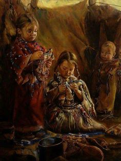 New Ideas Painting Indian Children Native Child, Native American Children, Native American Wisdom, Native American Pictures, Indian Pictures, Native American History, Indian Pics, Native American Face Paint, Native American Paintings