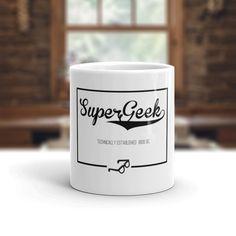 Super Geek - Geek Coffee Mug