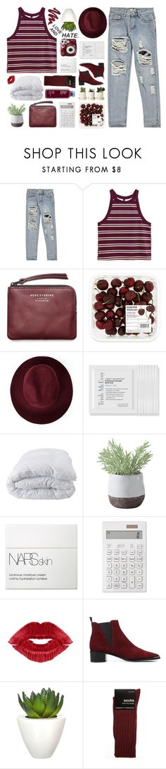 """""""★ ;; open your eyes, i'm more brilliant than you'll ever be"""" by neutral-bunny ❤ liked on Polyvore featuring Boohoo, Acne Studios, Redopin, Trish McEvoy, Soft-Tex, Torre & Tagus, NARS Cosmetics, Muji, Pomax and Polaroid"""