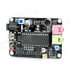 DIY ISD4004 On-board Microphone Voice Recording Module - Black. Color: Black - Material: CCL - Model: I081209 - Input voltage: 3.0~5V - Recording time: 8 minutes - Working current: 25~30mA - No power consumption information storage: 100 years (typical value) - 100000 times recording cycle (typical value) - On-board ISD4004 chipset; on-board microphone - Suitable for DIY projects. Tags: #Electrical #Tools #Arduino #SCM #Supplies #Boards #Shields
