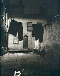 Empty Streets in Bermondsey by Brandt, 1938
