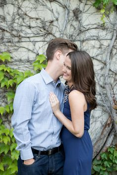 Romantic Engagement Session (with a cute save-the-date shot) from Laura Kelly Photography on Style Me Pretty: http://www.StyleMePretty.com/canada-weddings/ontario/ottawa/2014/03/14/romantic-engagement-session/