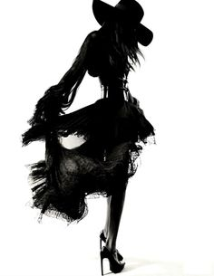 Jourdan Dunn for Vogue in Saint Laurent    Pretty Girls & Bourbon