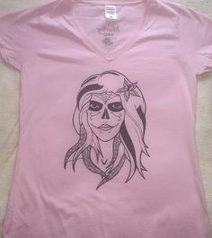 "Design name ""Siren Fashion Brand, New Fashion, Lady V, V Neck, T Shirts For Women, Mens Tops, How To Wear, Clothes, Design"