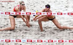 Pavan, Humana-Paredes in fine form at beach volleyball world championships