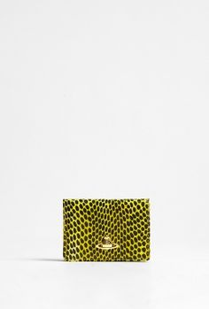 Snake Print Business Card Holder by Vivienne Westwood Accessories