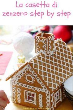 Come fare la casetta di zenzero per Natale tutorial step by step #ricettedinatale #comefare #natale #diy