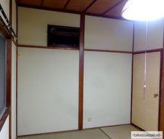 和室壁が砂壁で塗り替えられて、スッキリ明るく★