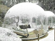 French bubble hotel! Add to the list :)