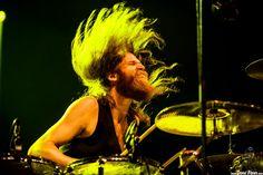 "Christoph ""Tiger"" Bartelt, baterista de Kadavar by Dena Flows on 500px"