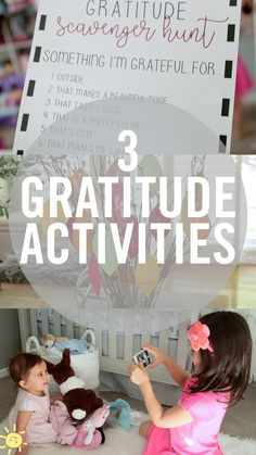 These are the perfect exercises to teach your children to be thankful.