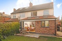 3 bedroom semi-detached house for sale in Park Road, Nottingham - Rightmove 1930s House Extension, House Extension Plans, House Extension Design, Extension Designs, Roof Extension, Extension Ideas, Kitchen Extension Semi Detached House, Building Extension, Orangerie Extension