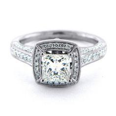 Modern Engagement Ring Mountings Vmr 9