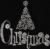 Merry CHRISTMAS circular rhinestone hot fix iron on transfers - DIY appliqué… Christmas Bells, Christmas Shirts, Christmas Art, Christmas Sweaters, Beautiful Christmas, Mandala Painting, Dot Painting, Rhinestone Tshirts, Bling Shirts