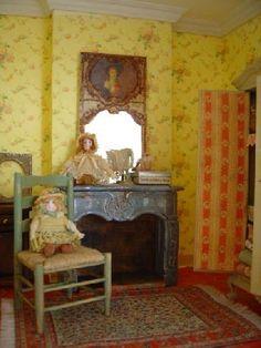 chambre jaune by Lea Frisoni