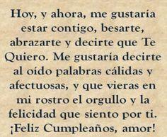 Para El Mundo Tú Puedes Ser Sólo Una Persona Pero Para Mi Tú Eres El Mundo Feliz Cumpleaños Amor Feliz Cumpleaños Novia Cumpleaños Para Mi Novio
