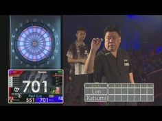 Mar 18th, 2012: The World Grand Final - Final Match on a DARTSLIVE board