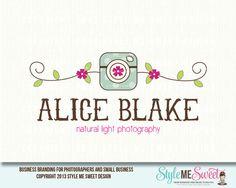 Alice Blake Premade Logo Design