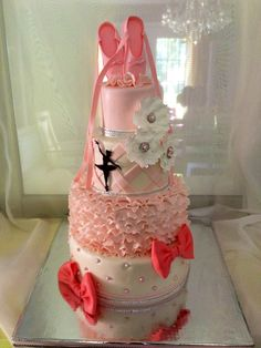 Ballerina Birthday Everything is edible and hand made except the gem stones