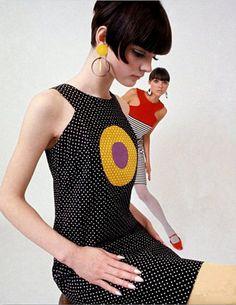 :60's/70's fashion model Linda Morand