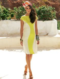 Colorblocked dress from Burdastyle.  I'm thinking of tangerine and navy linen perhaps?