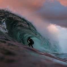 Surfer Magazine  -   Dusk in the Pacific Northwest with Raph Bruhwiler. Photo: McInnis 
