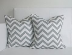 CLOSING SALE  Decorative Pillows Gray 14 x 14 by skoopehome, $25.00