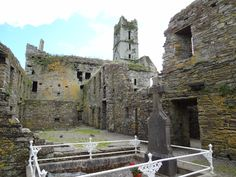 reland: Co. Cork: Timoleague Abbey on the south coast of Co. Cork, about halfway beween Clonakilty and Kinsale.