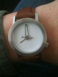 a cyclist's watch