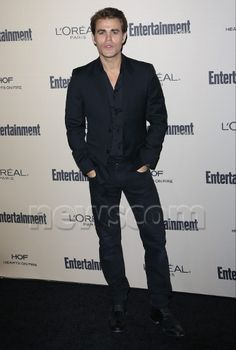 Paul Wesley at EW Pre-Emmys Party September 18th... - I'm too sexy!