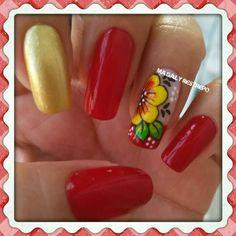 ROJO💅 Holiday Nail Designs, Holiday Nails, Nails Design, Summer Nails, Diana, Art Ideas, Nail Art, Spring, Red Nail Polish