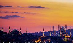 Kadir gecesinde açılması planlanan mükemmel eser Çamlıca Cami şimdiden İstanbul'un silüetini değiştirmeye başladı..
