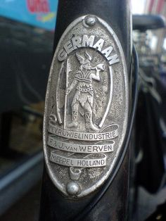 """Chromeography - """"bicycle"""" - photos of emblems, badges, logos on cars & other objects"""