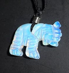 1pc Opalite Elephant Natural Crystal Healing Gemstone Figurine Carved Pendant with Bail & Necklace Sublime Gifts http://www.amazon.com/dp/B0161NNP60/ref=cm_sw_r_pi_dp_O.Jowb1MPW79A