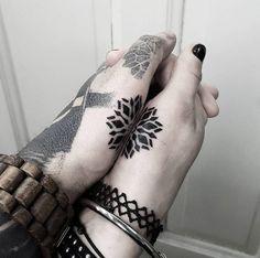 Best Body - Tattoo's - Mandala couple tattoo by Matteo Nangeroni...
