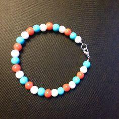 Beach Mix Glass Bracelet Beaded Necklace, Store, Beach, Bracelets, Glass, Jewelry, Products, Beaded Collar, Jewlery