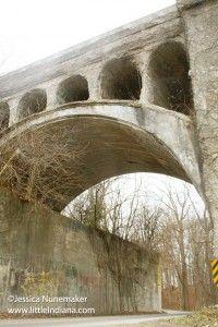 Indiana #Bridges: Images from Twin Bridges in Danville, #Indiana