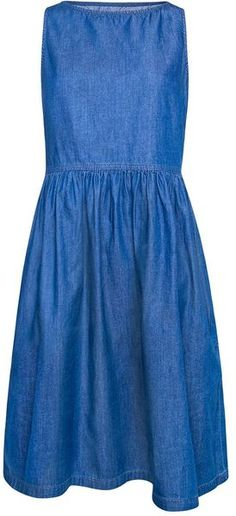Mango Denim Dress in Blue (denim mid wash) - Lyst