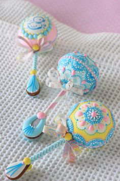 How to make gingerbread rattle. Possible gender reveal