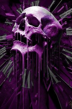 57e1bf3cff5e Skull Melting Clocks wallpaper from Skulls wallpapers