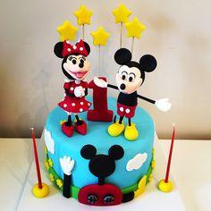 Minnie Mickey cake