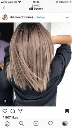 Pin of new hairstyles on hair color ideas in 2019 - .- Pin von neuen Frisuren auf Haarfarbe Ideen im Jahr 2019 – … – … Pin of new hairstyles on hair color ideas in 2019 … - Hair Color And Cut, Haircut And Color, Hair Colour, Colour Colour, New Hair Colors, Colours, Ombre Hair, Balayage Hair, Balayage Color