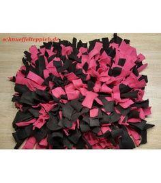 Schnüffelteppich pink/schwarz