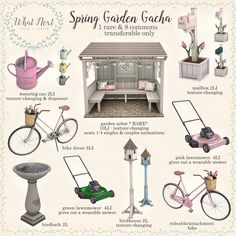 house sims 4 Spring Garden Gacha coming soon for the Arcade Sims Four, Sims 4 Mm, Sims 4 Mods Clothes, Sims 4 Clothing, The Sims 4 Packs, Muebles Sims 4 Cc, Sims 4 Bedroom, Sims 4 Children, Sims 4 Clutter
