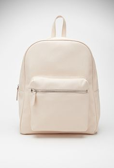Pebbled Faux Leather Backpack | FOREVER21 - 1000096691