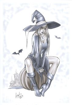Little witch by Elias-Chatzoudis.deviantart.com on @deviantART