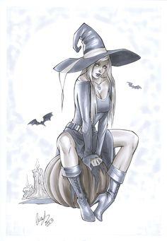 Little witch by Elias-Chatzoudis.deviantart.com on @deviantART