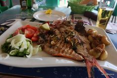 Fresh, fresh fish on the Canary Island of Fuerteventura. Simple foods are often the best!