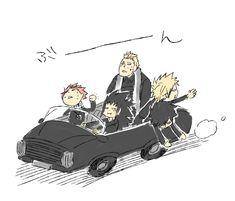 xD, Natsu, Gadjeel, Luxus, Sting et Rog ont le mal des transports. Ils peuvent vaincre touts leurs ennemis sauf ça 😂😂