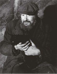 Tramp with his Cat   by Brassaï – aka Gyula Halász (1899-1984, Hungarian)